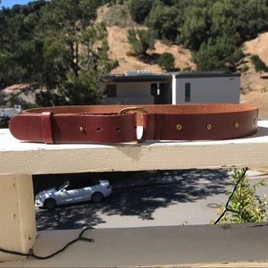 Lucky Brand Brown Leather Belt XS/S